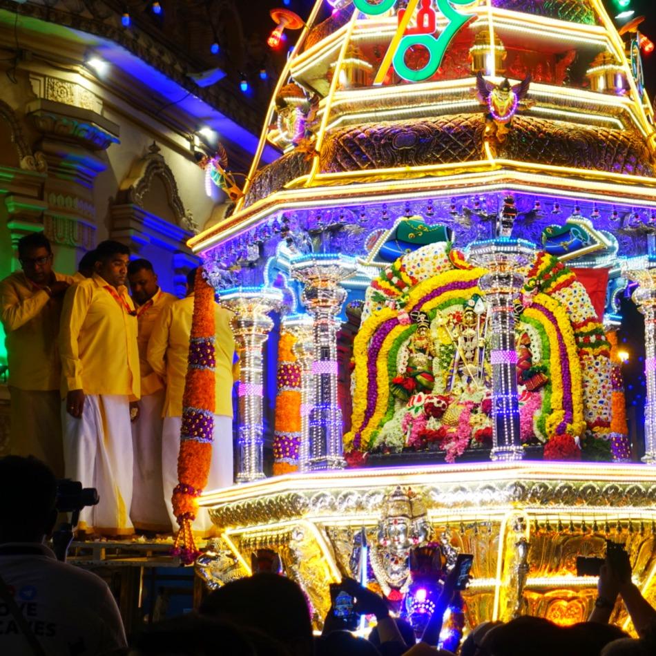 lord murugan's charriott thaipusam KL (1)