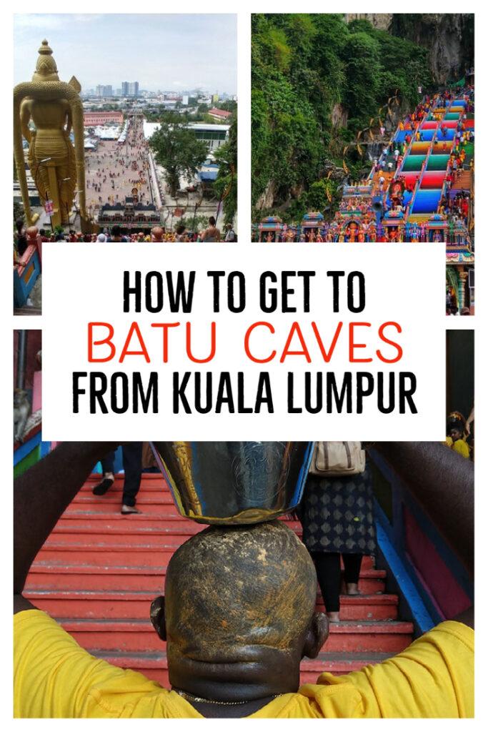how to get to batu caves from kuala lumpur