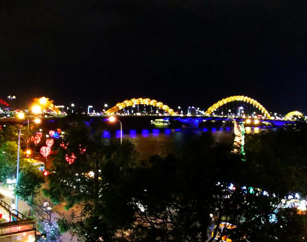 Dragon Bridge Danang Vietnams