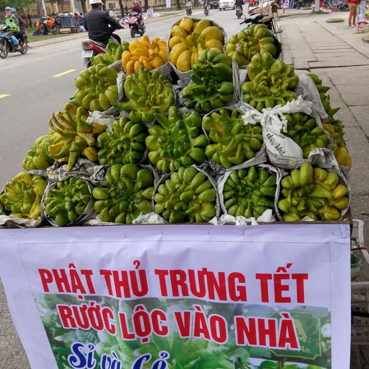 Foods eaten at Tet Buddha's Hands
