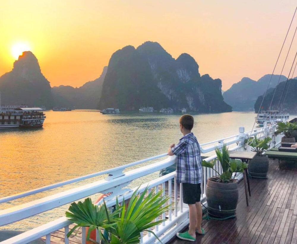 Halon bay vietnam cruise with kids