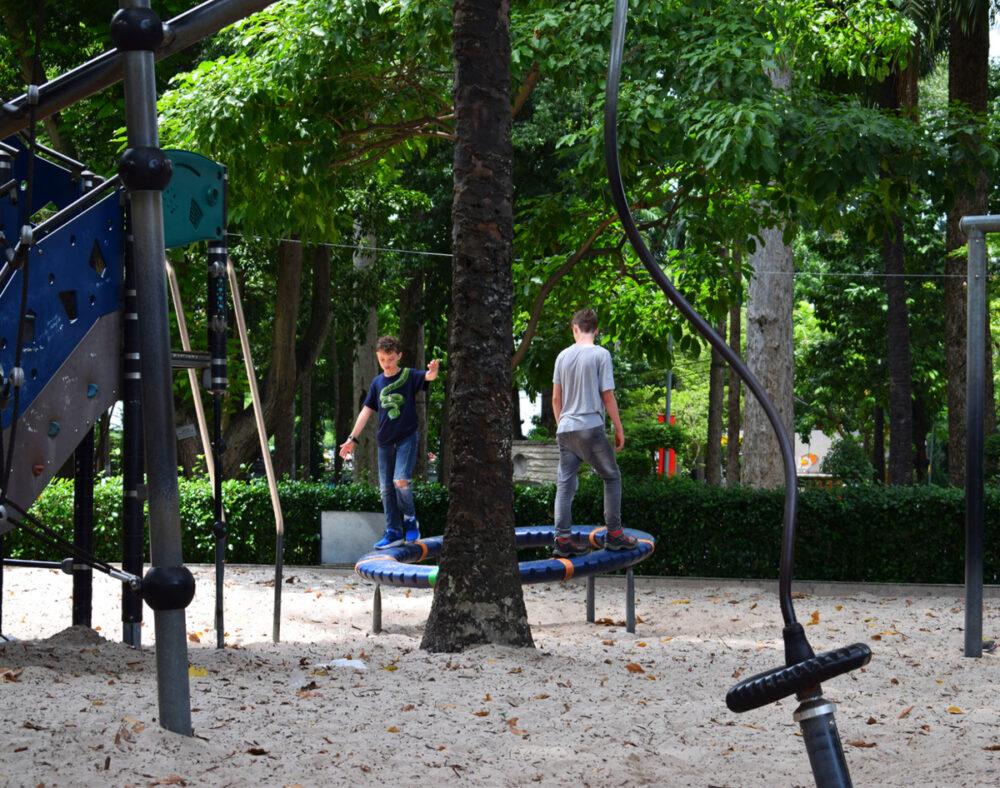 Vietnam with kids playground Saigon