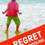 regret homeschooling pinterest