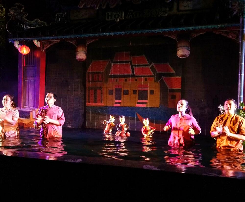 water puppets entertainment for kids vietnam