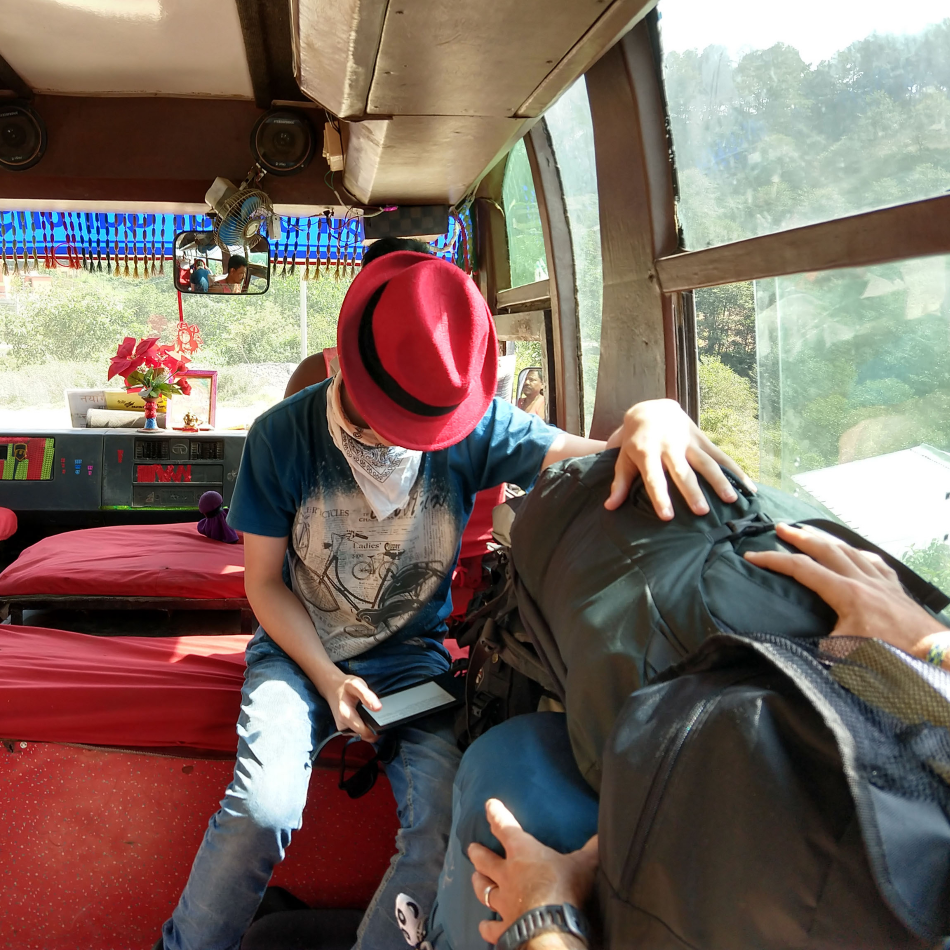 travel with kids bus train with kids