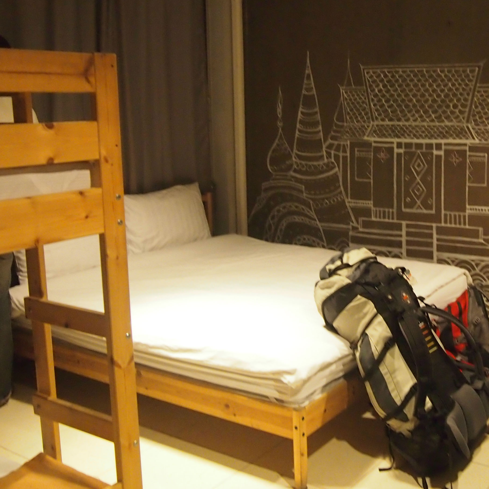 travel with kids hostel room family