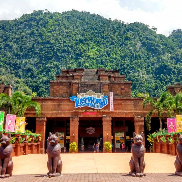 the lost world of tambun theme park near ipoh