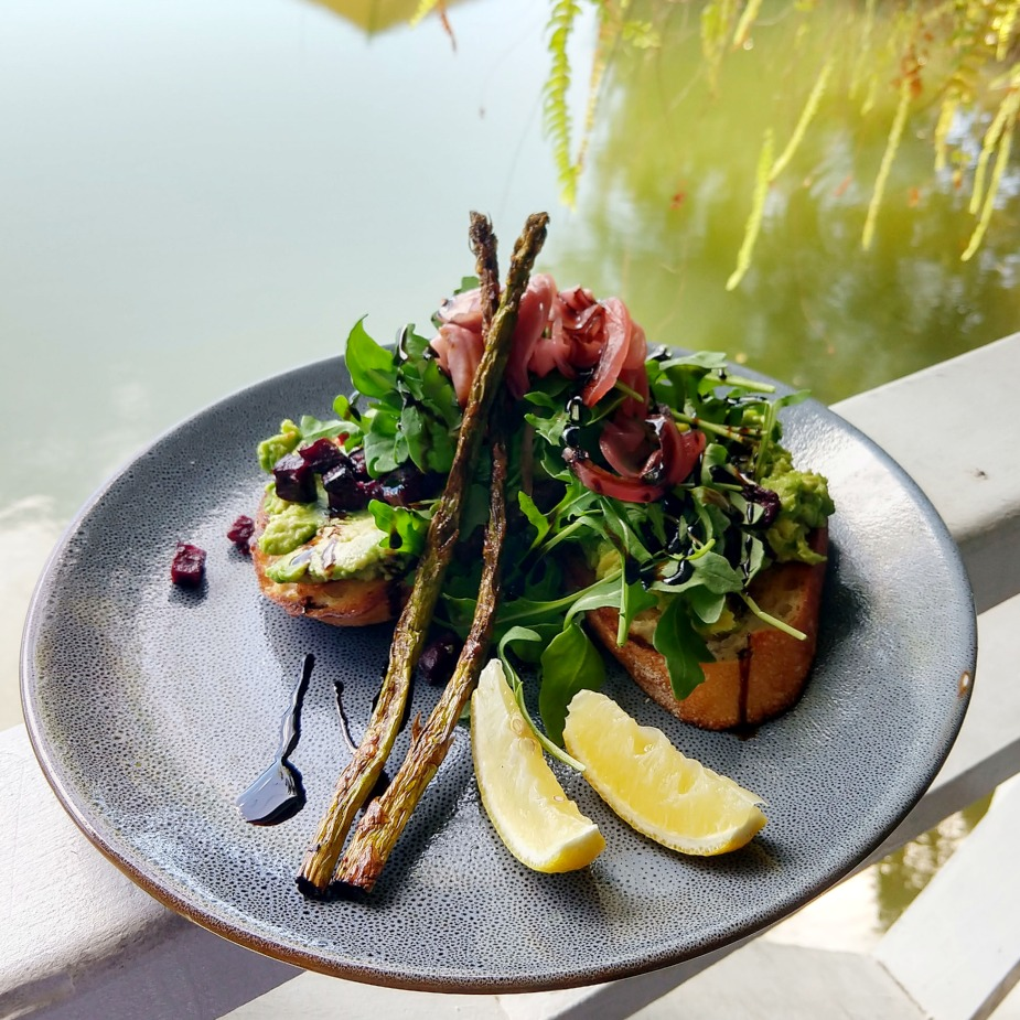 Popular Australian Food Avo on toast