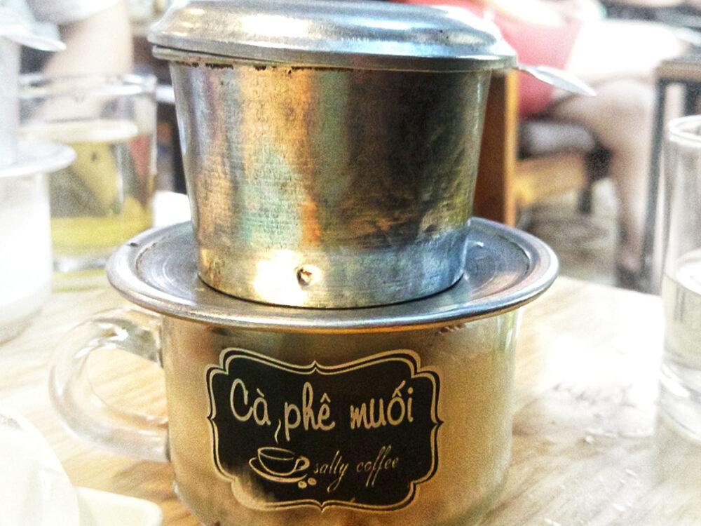 Vietnamese salt coffee