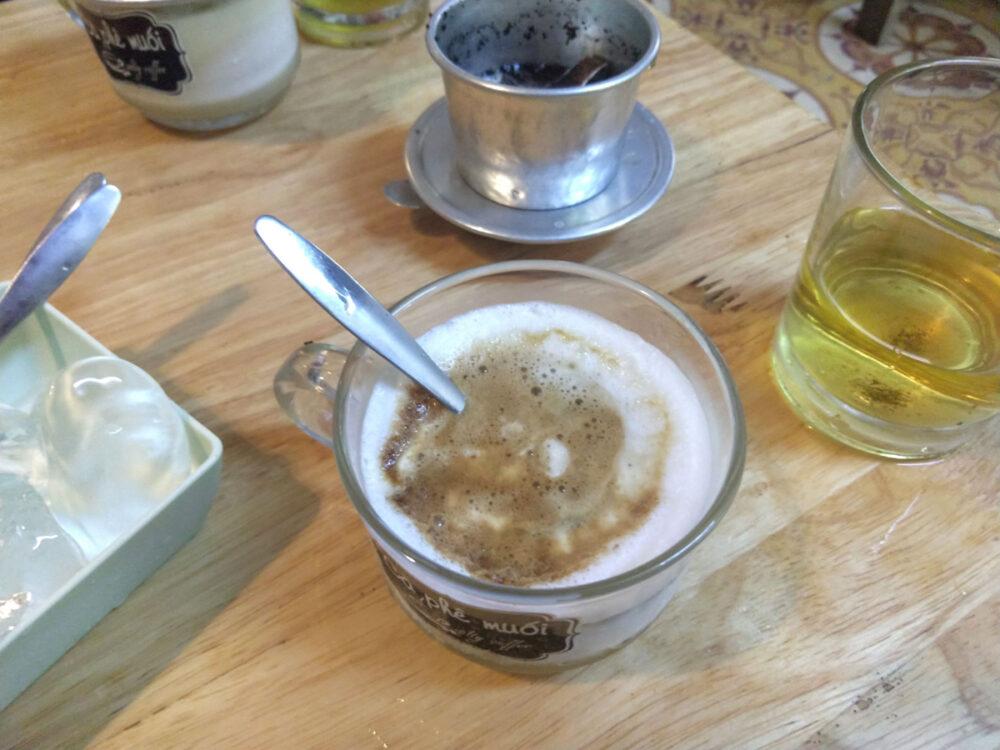 salt coffee from vietnam