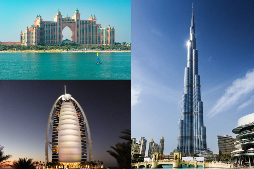 what is dubai known for famous buildings
