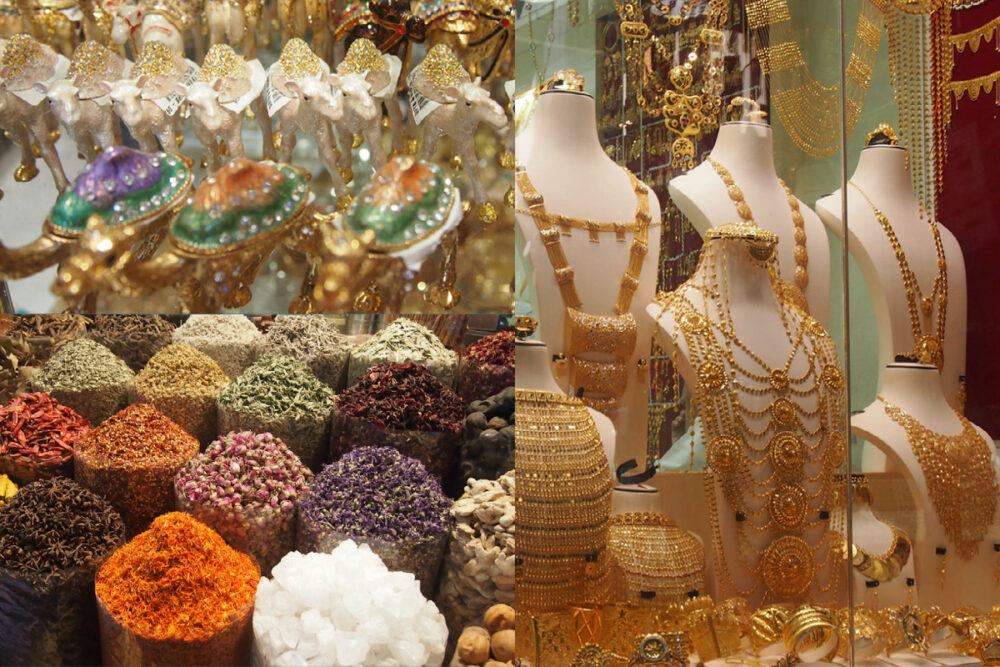 what is dubai known for souks