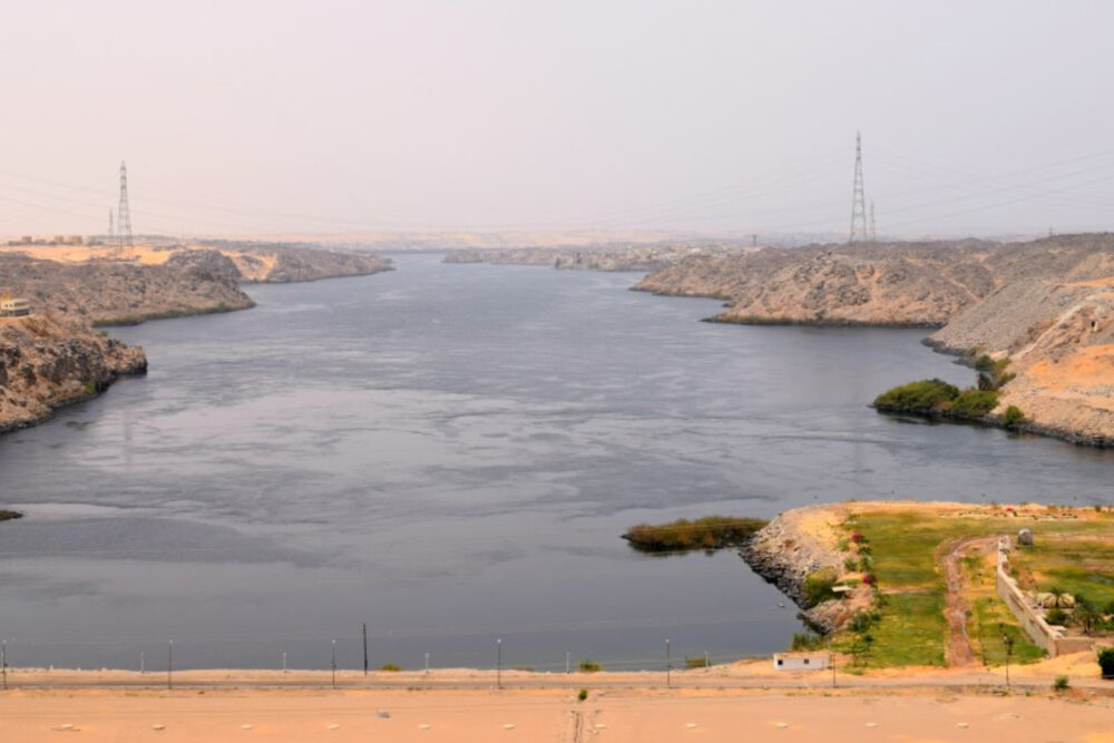 Is Egypt in African Egypt the Aswan Dam