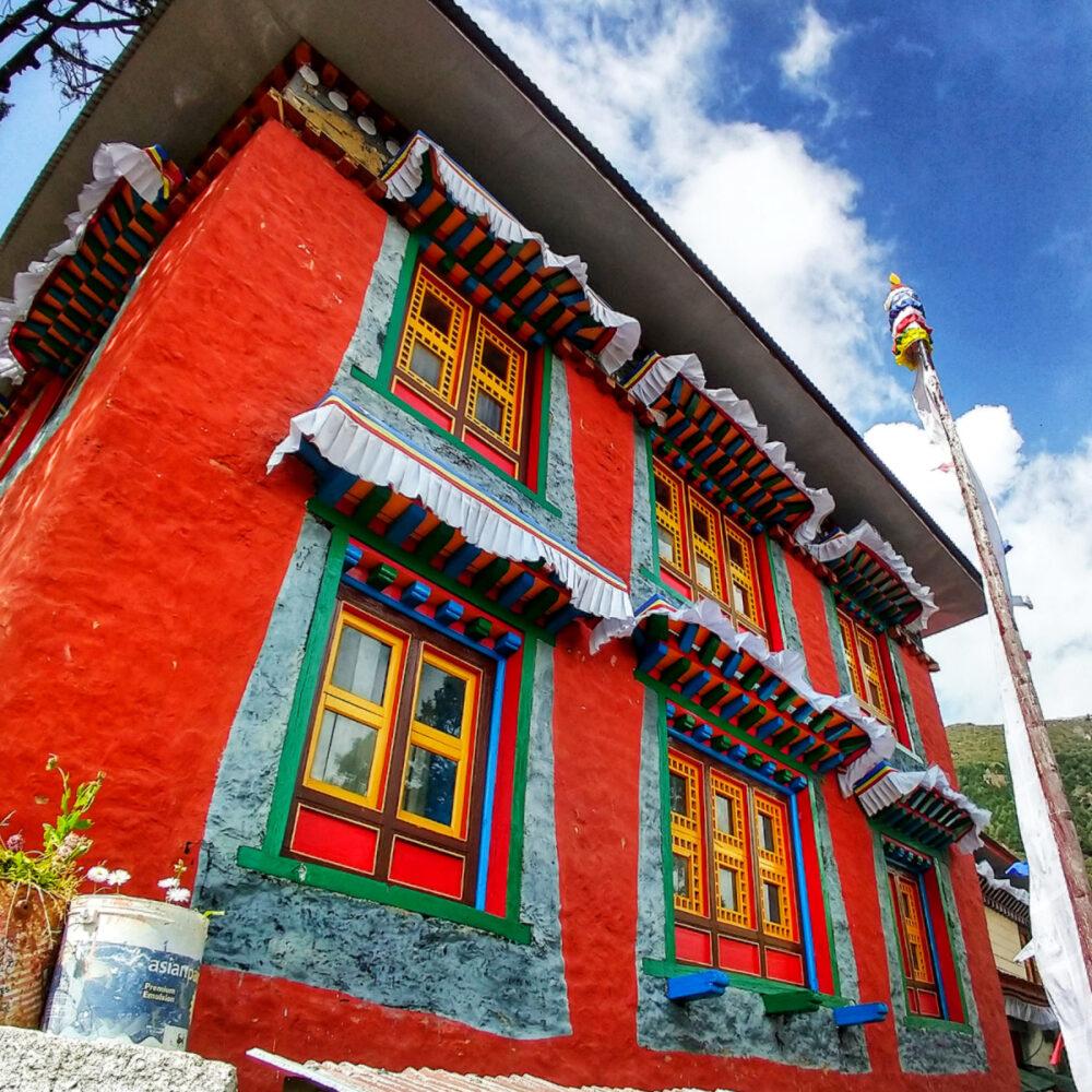 Monastery Nepal Family World Travel