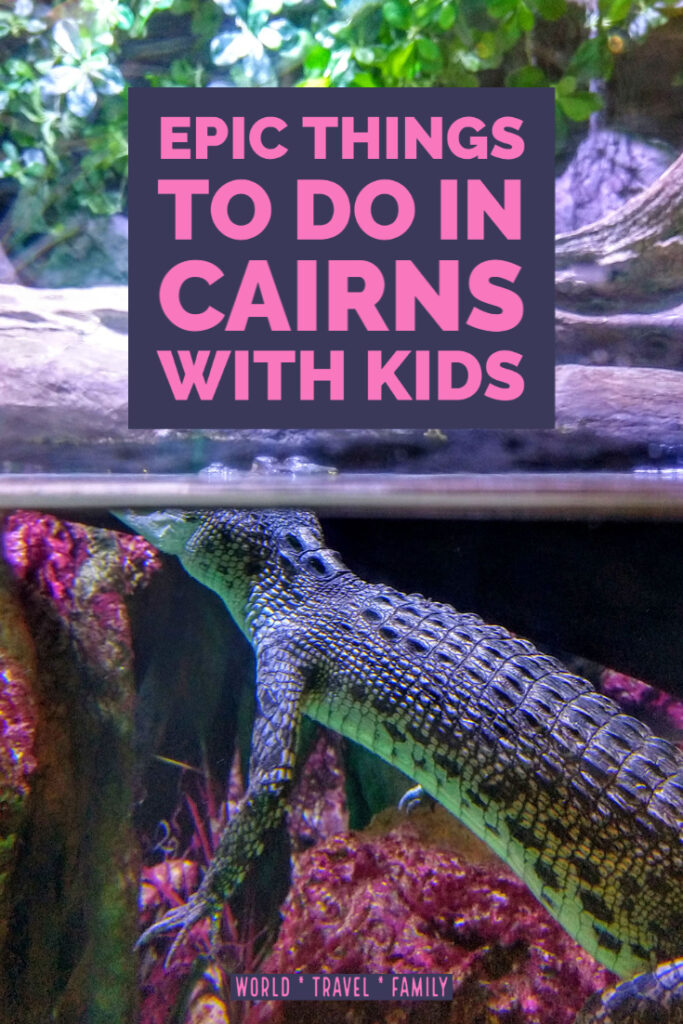Things to Do in Cairns with kids visit the aquarium