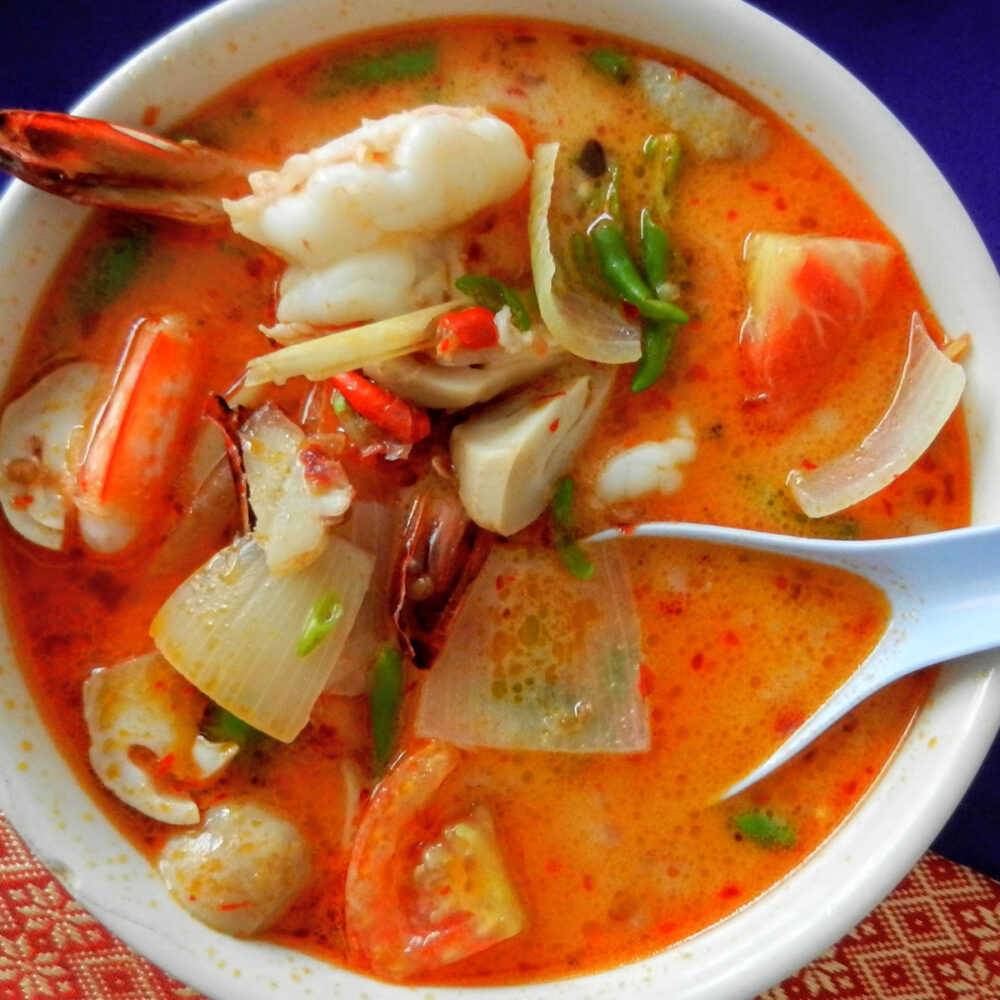 best food in southeast asia tom yum from Thailand