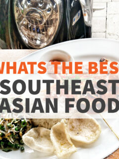 best southeast asian food plate of food