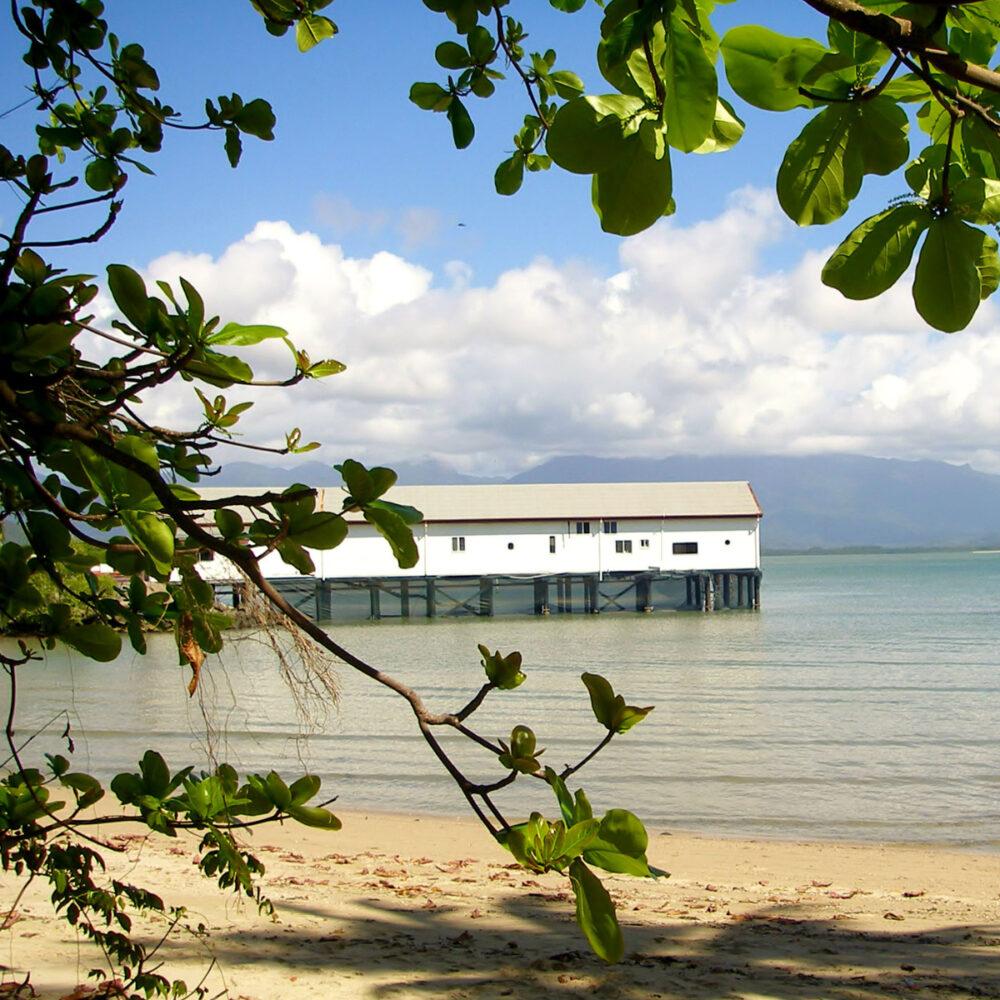The Port Douglas sugar wharf north of cairns