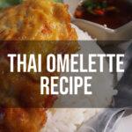 thai omelette recipe pinterest